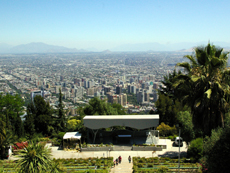 サンチャゴ市内